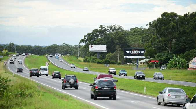 Three quarters of the money will go towards upgrading the Bruce Hwy.