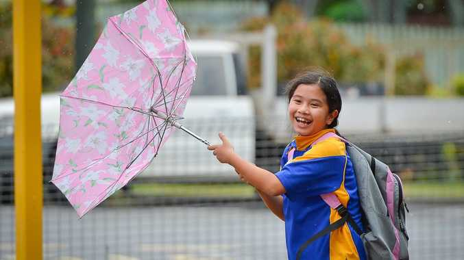 Weather forecasters are predicting a wet and windy week on the Sunshine Coast.