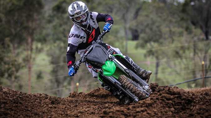 CRITICAL CONDITION: Joel Evans is in a critical after crashing in the National Championships in South Australia. Contributed
