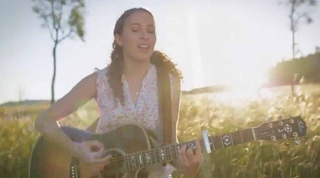 KILKIVAN TALENT: Olivia Nolan, 18, is one of the talented local singers to give voice to Kilkivan's Town Anthem.