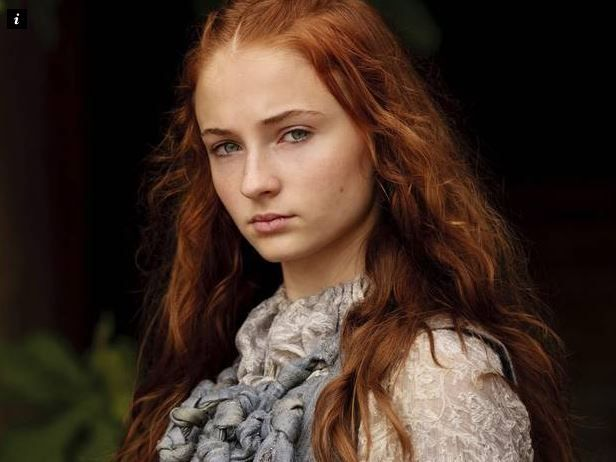 How Sansa's courage will fare now she's hitched to Westeros's most boggle-eyed loon will be interesting to see
