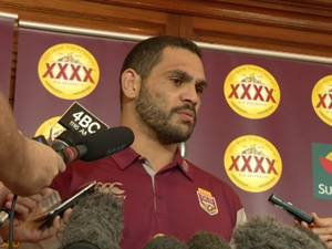 Greg Inglis on the re-signing of Mal as Maroons coach