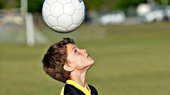 Sunshine Coast Fire elite academy soccer training. Max Gordois Photo: Warren Lynam / Sunshine Coast Daily