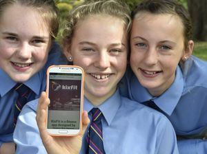 Glennie girls design fitness app