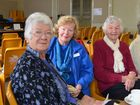 Judy Mobbs, Margaret Carden and Joan McClellan at the Rose City Probus Club morning tea.
