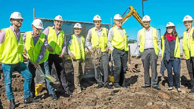 BILL OF HEALTH: Construction is now under way on the new Toormina Medical Centre.