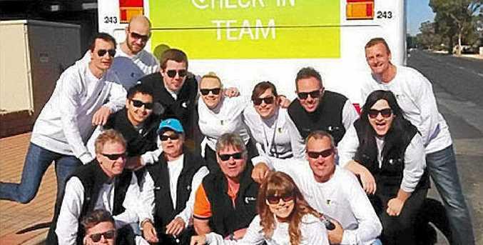 CHECK IN: The Telstra team will visit Bellingen next week.