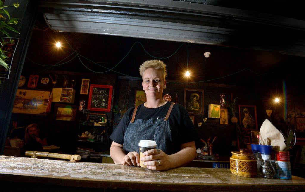 FLOCKING IN: Owner of Flock Espresso and Eats in Lismore, Sarah Jones.