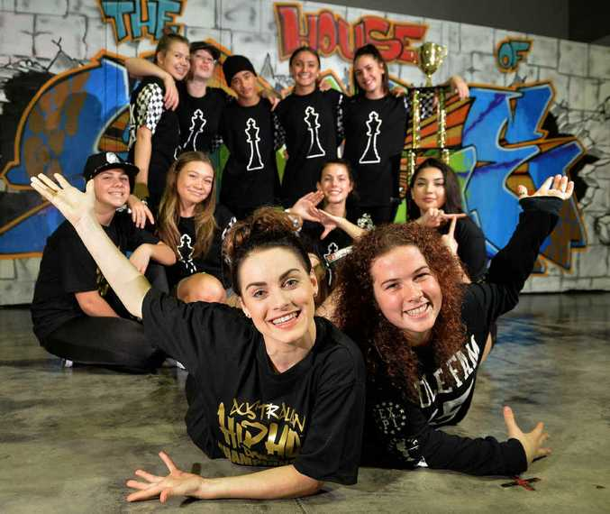 BIG OPPORTUNITY: Dance crews from the House of Sole hip hop dance studio have qualified for the World Titles in San Diego. Shari Crump and Rhiana Cooke are looking forward to the trip.