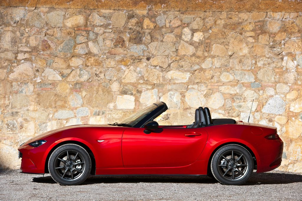 CHEAP THRILLS: The 2015 Mazda MX-5 will cost about the same as the first variant sold in Australia in 1989.