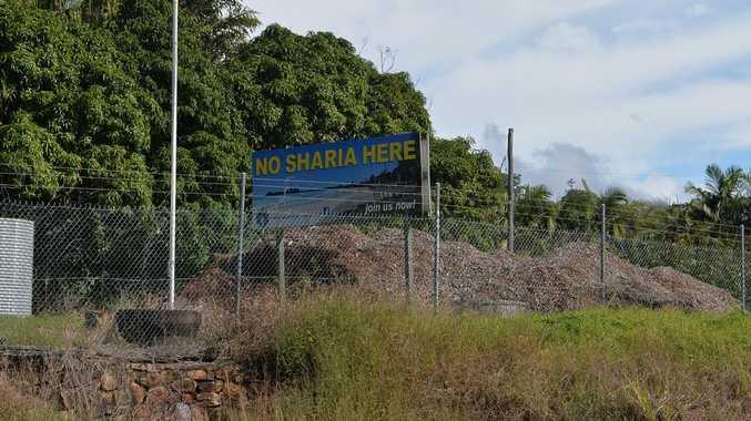 Sharia sign in Maroochyhdore Photo: Warren Lynam / Sunshine Coast Daily