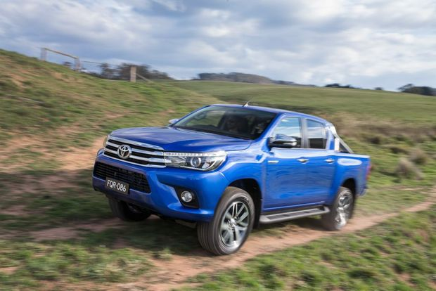 The 2016 Toyota HiLux