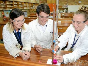 Chemistry simmers for students and science