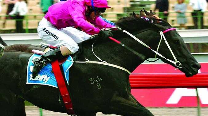 MANY MEMORIES: Melbourne, November 2. 2002. Darren Beadman rides Lonhro to victory in the 2002 MacKinnon Stakes at Flemington.