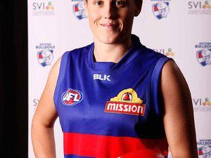 Fraser Coast AFL star Emiliy Zielke drafted to Dogs