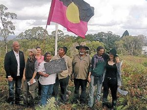 Traditional owners and residents clash over tower land
