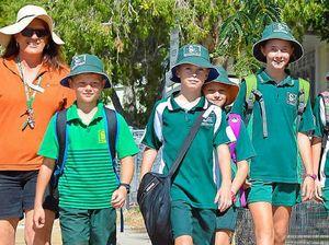 Clinton students walk the walk for health, environment