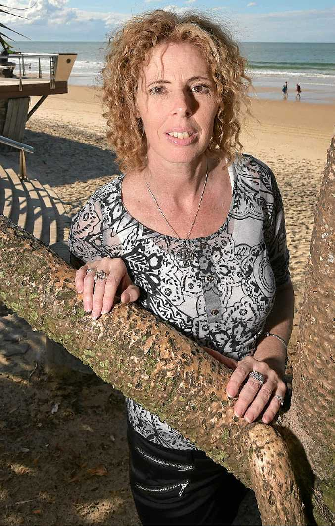 EXPENSIVE BUSINESS: Mooloolaba mum Fiona Marchant has been battling skin cancer for about seven years.