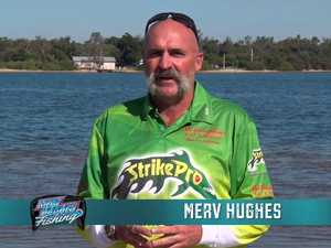 Merv Hughes fishing the Coffs Coast