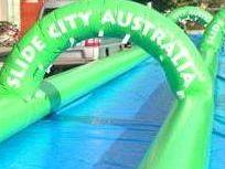 Hervey Bay's getting over 300m of slippn', slidin' fun