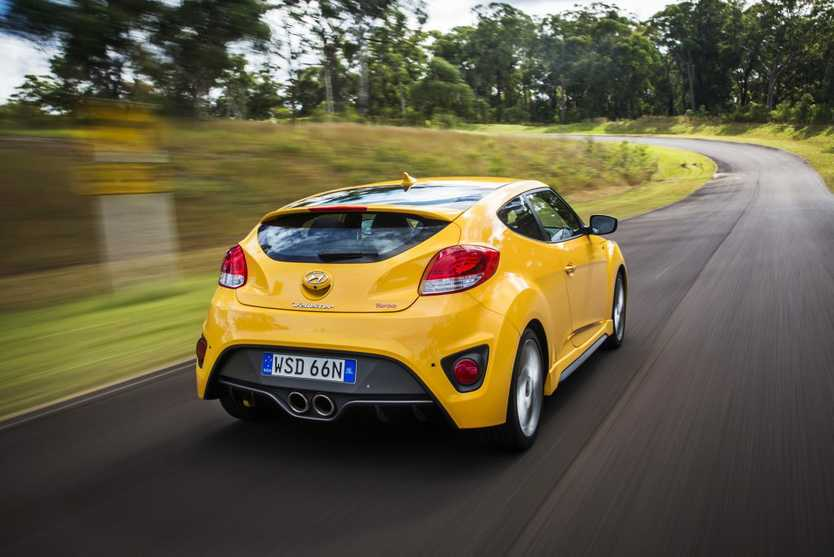 New suspension tweaks for the Veloster SR Turbo improve its road and track abilities