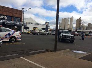 Pedestrian struck in two car crash on Ruthven St