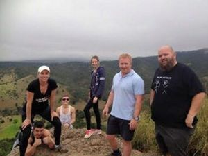 Toowoomba's Big Owie conquers Table Top Mountain
