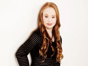 Teen with Down syndrome determined to model