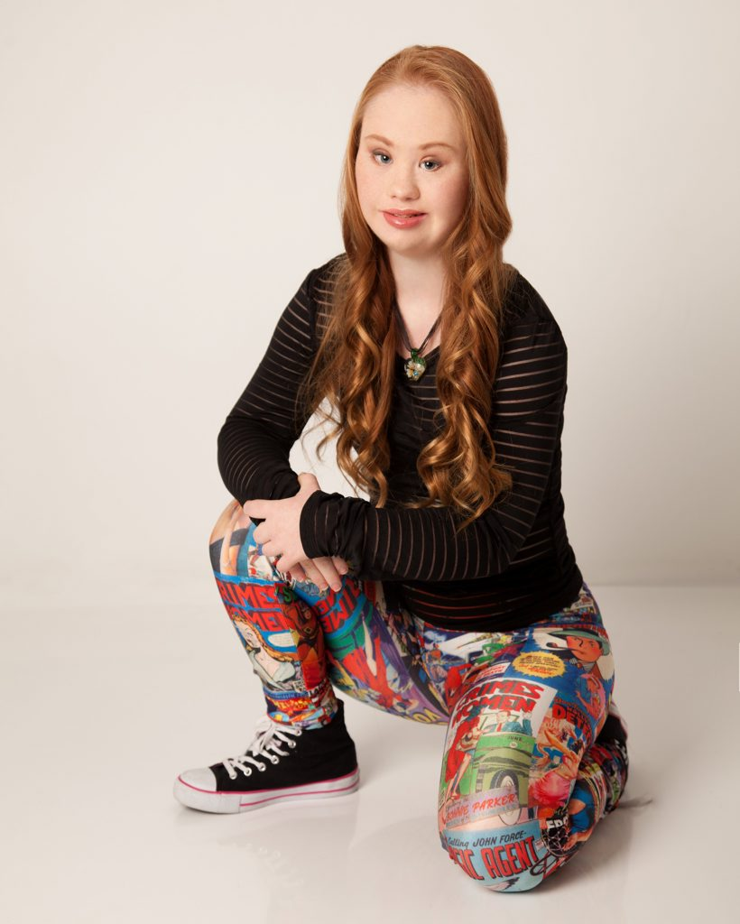 18-year-old S-Troupe actor Madeline Stuart lives with Down Syndrome and is taking the world by storm by launching her modelling career. Photo Contributed / The Queensland Times