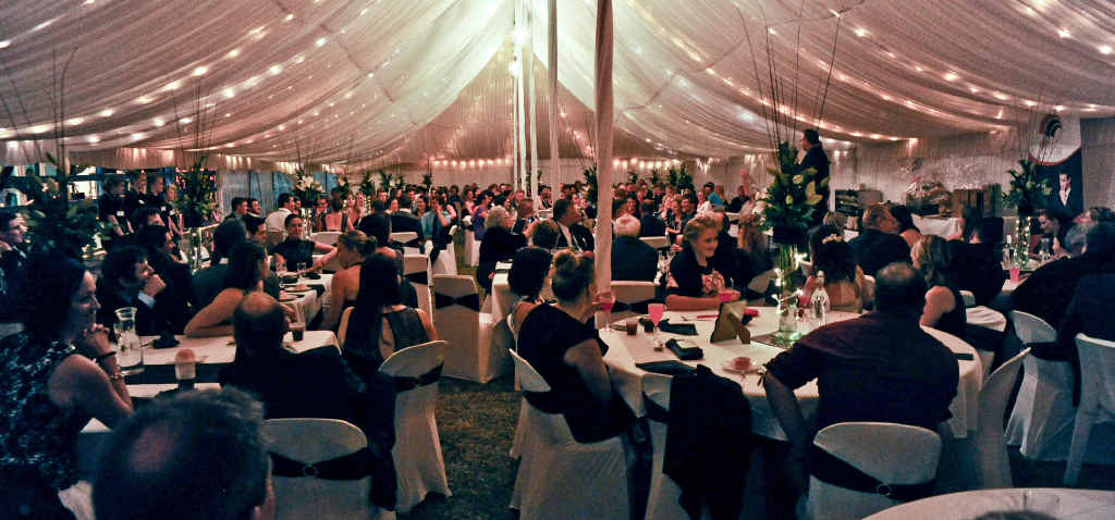 GREAT SUCCESS: The Gin Gin Show Ball was held on Saturday, May 16, in a marquee.