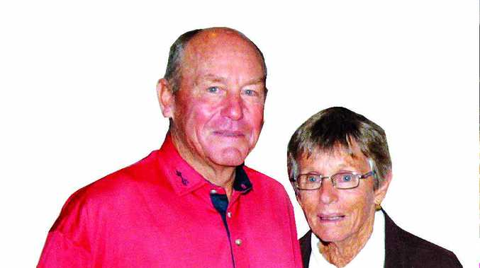 TOGETHER IN LIFE AND DEATH: Terry and Jenny Law.