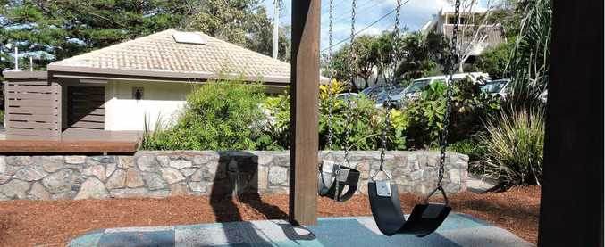 CONCERN: The Noosa park where a four-year-old boy stepped on a discarded blood-filled syringe.