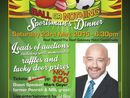 Sportsman dinner, including 2 course dinner, live entertainment and celeb speaker Mark Geyer.