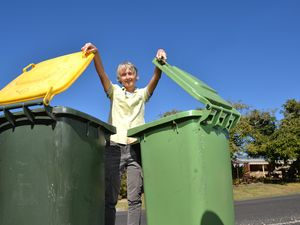 Food, nappies and green waste found in recycling bins
