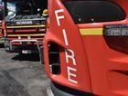 Fire crews battled a blaze at popular Coast retail outlet.