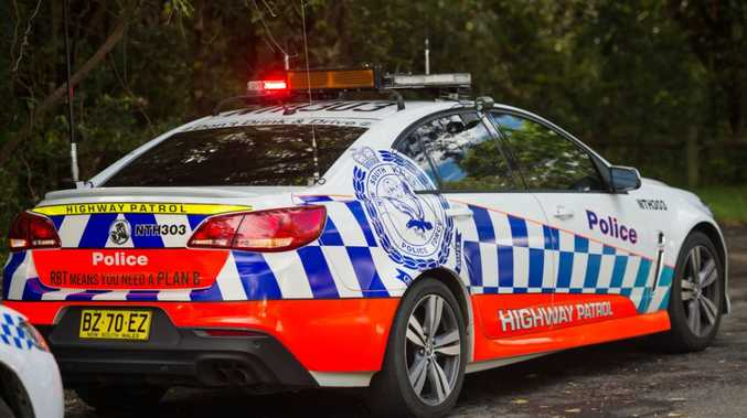 Police arrested a man in South Grafton on Friday night following a 24-hour manhunt.