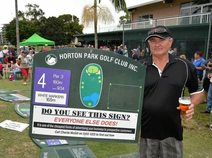 Last day of play at Horton Park Golf Course. Former greenkeeper Mark McDonald. Photo: Warren Lynam / Sunshine Coast Daily