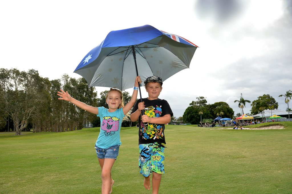 Set to be a wet start to the school holidays this weekend.
