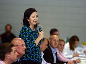 "Palaszczuk tells CQ forum ""we won't be forgetting you"""