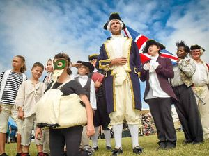 Captain Cook's arrival remembered at 1770 festival