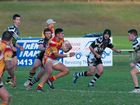 Coffs Harbour centre Shayde Perham was star performer with five tries for the afternoon.
