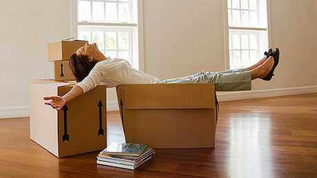 Moving house can be a pain