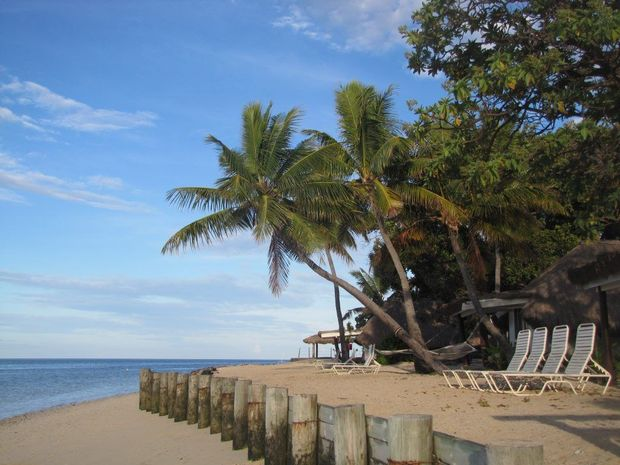Instant stress relief on Castaway Island Resort, Fiji.