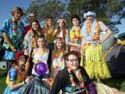 Hundreds of locals will brave the cold for the Cancer Council's relay for life at Kawana High School. Team Hipsters Vs Hippies holidaying in Hawaii Photo: Jason Dougherty / Sunshine Coast Daily