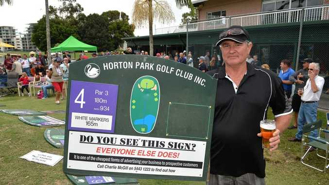 Last day of play at Horton Park Golf Course. Former greenkeeper Mark McDonald. Photo: Warren Lynam / Sunshine Coast Daily