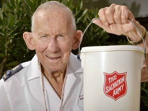 Ray Auld has been the face of the Salvos for half a century