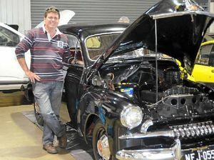 Classic cars get Brett's motor running