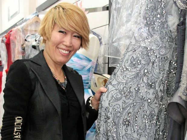 DOUBLE LIFE: As well as owning her store NB Style, Sonja De Witt teaches mandarin.