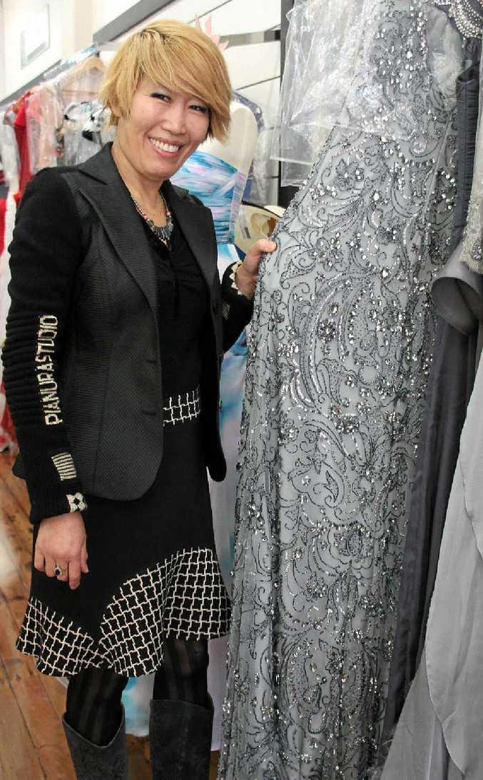 DOUBLE LIFE: As well as owning her store NB Style, Sonja De Witt teaches mandarin.