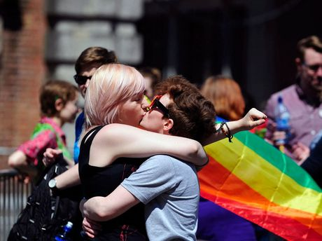 The Irish referendum was the first on the issue of same-sex marriage anywhere in the world